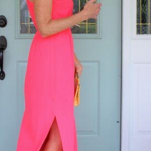 J. Crew Dresses - J Crew Pink Maxi Dress